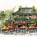 Chinese temple Singapore by James Richards fasla