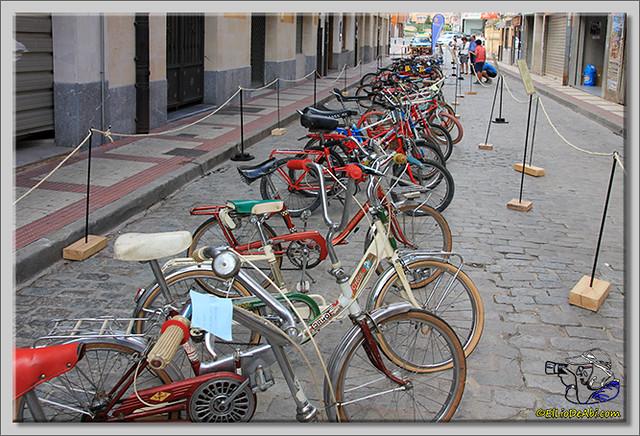 7 Exposición de bicicletas antiguas