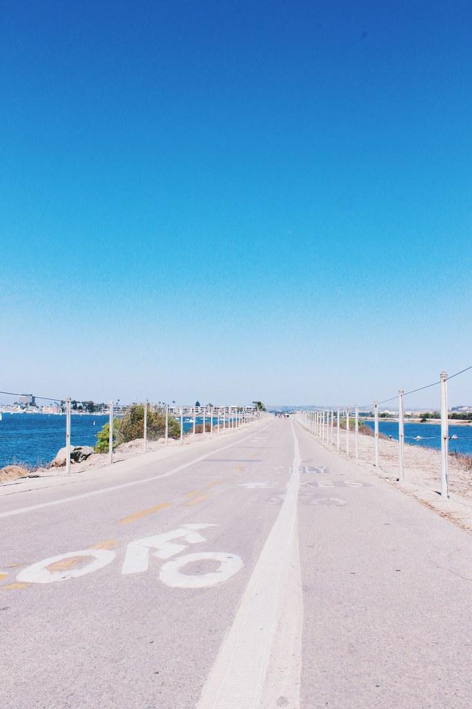 Strand bike ride