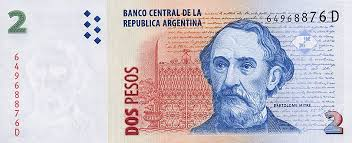 Billete de 2 pesos de Argentina ... vale mas como lienzo 20394896185_ee2f16c454_o