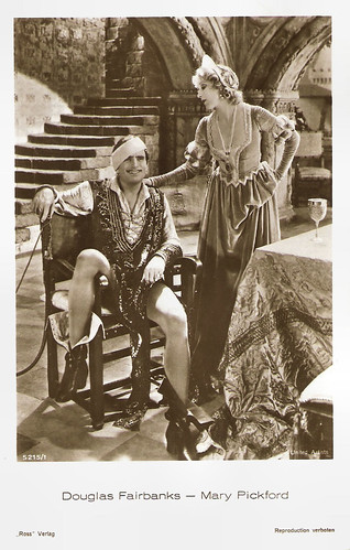 Douglas Fairbanks and Mary Pickford in Taming of the Shrew