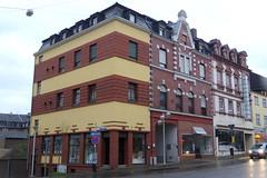 Verschiedene Baustile in der Karl-Janssen-Straße