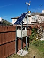 photo's of AV236 weather station..