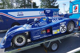 1975 Elf Switzerland's Renault Alpine A441 Driven by Marie-Claude Charmasson and Lella Lombardi at the 1975 Le Mans 24 Hours