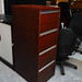 E90 4 Drwr mahogany filing cabinet