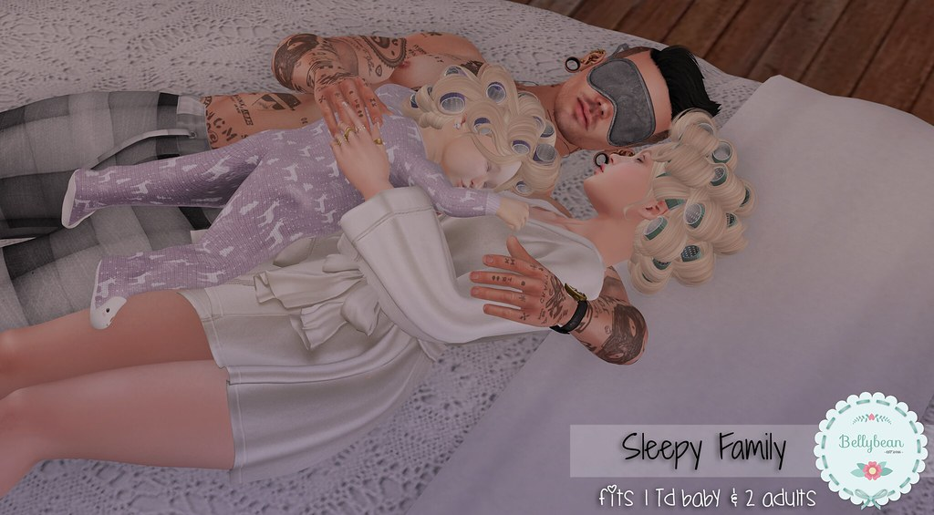 { Bellybean } Sleepy Family AD - SecondLifeHub.com