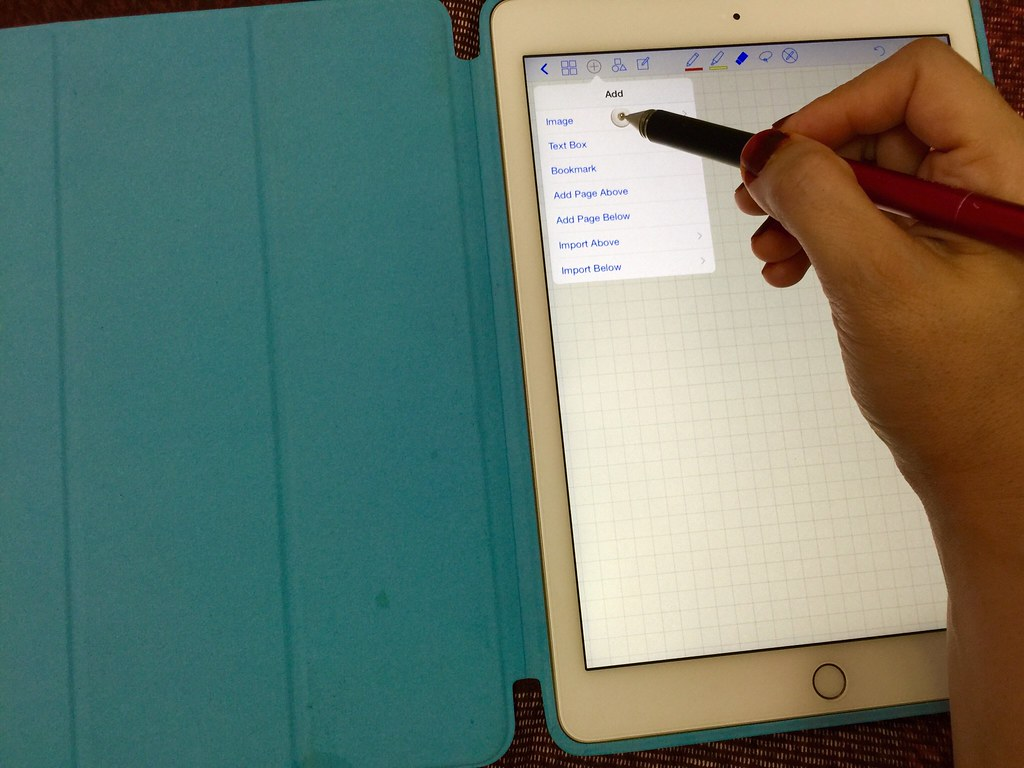 how to add a pdf to a goodnotes notebook