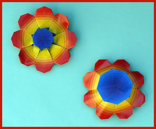 Origami Flower 1  (Shuzo Fujimoto)