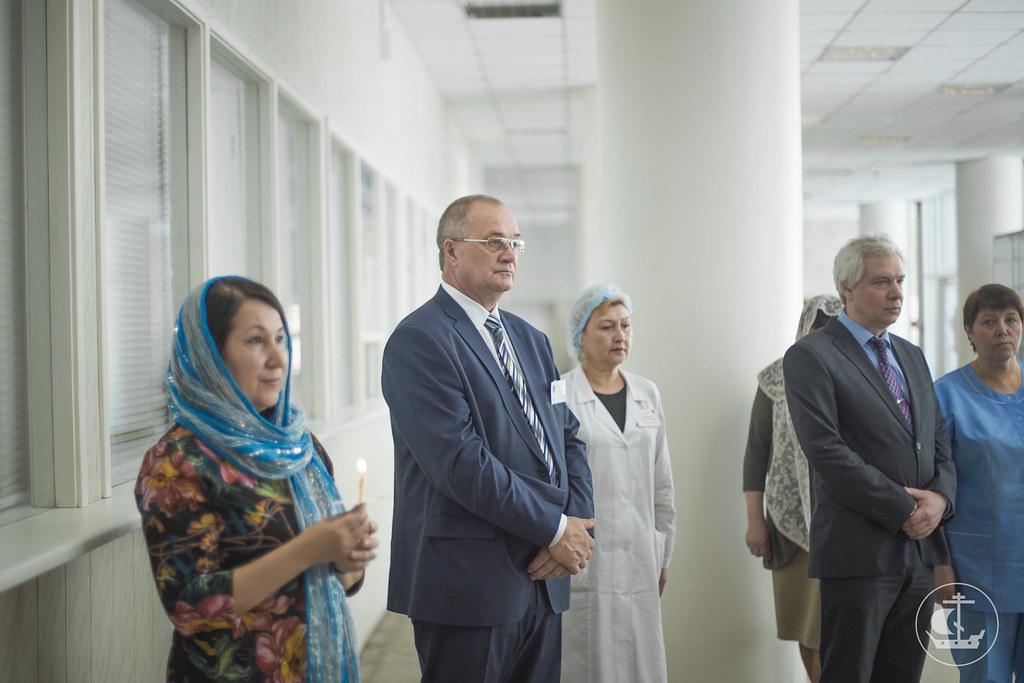 6 июня 2015, Освящение поликлиники №38 / 6 June 2015, Consecration of the Clinic №38