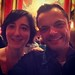 Lorie & Myself - Belle & Sebastian At Radio City Music Hall NYC by Christian Montone
