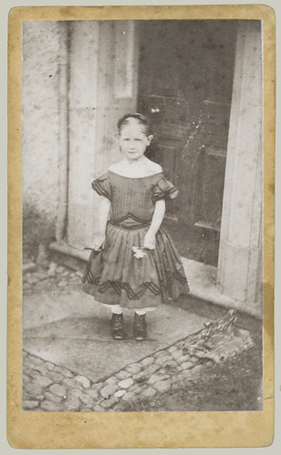 CDV small girl