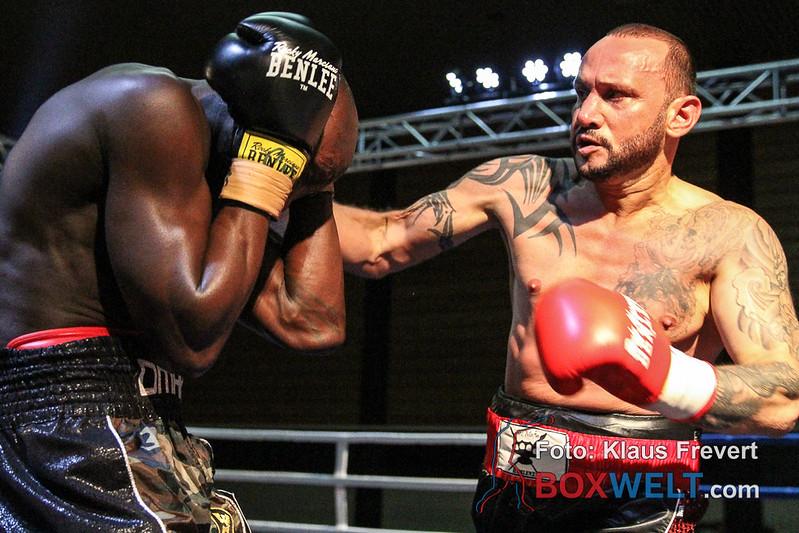 Turgay Uzun vs Omar Jatta - Rematch