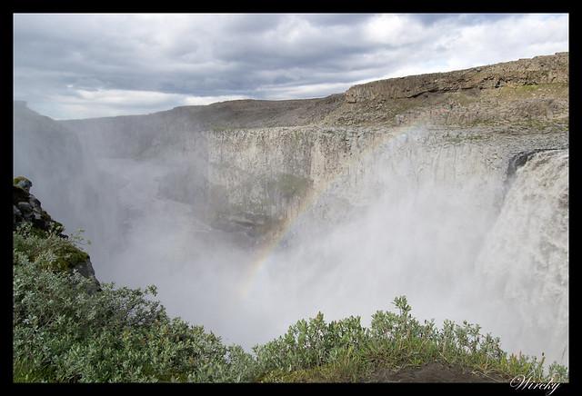 Arcoiris Cascada Dettifoss