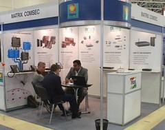 Matrix showcased its latest telecom solutions at SVIAZ EXPOCOMM, IEC Expocentre, Moscow (12-15 May, 2015)
