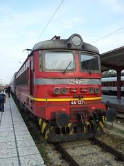 БДЖ 44 137 in Sofia, Bulgaria