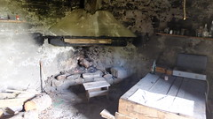 L'intérieur de la bergerie de Galghello