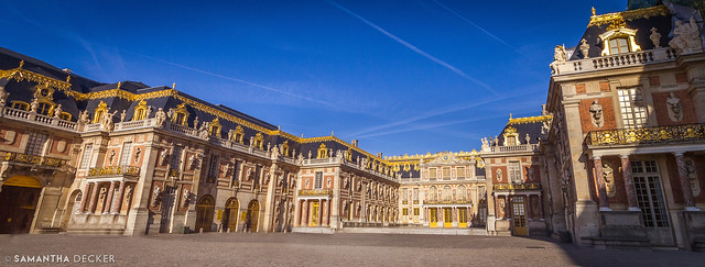 Palace of Versailles in the Morning