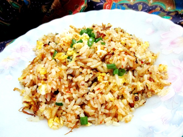 Serunding fried rice, reprise