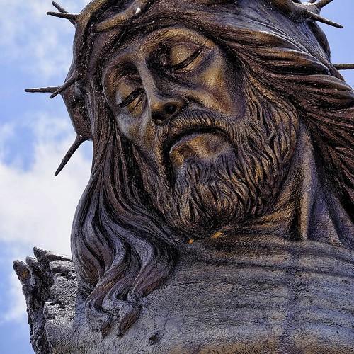 Detalle del Cristo Roto
