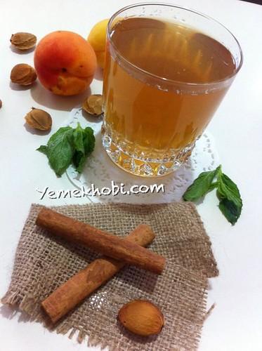kayısılı soğuk çay