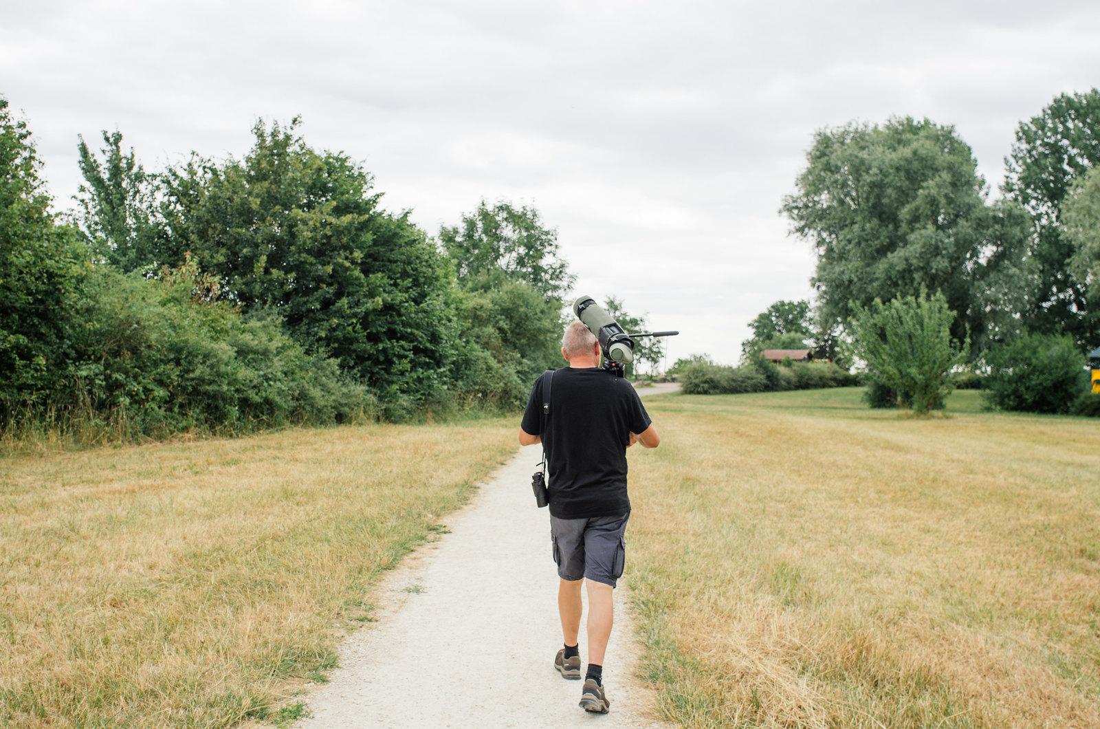 Tourisme vert en Haute-Marne - Coup de chaud au paradis - À la chasse aux oiseaux