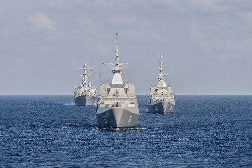 USS Lassen Completes Successful At-Sea Phase of CARAT Singapore 2015