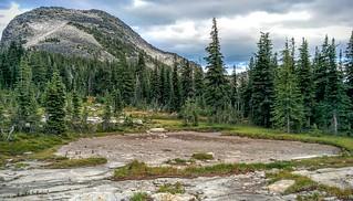 Dried-up Pond below Smith Peak