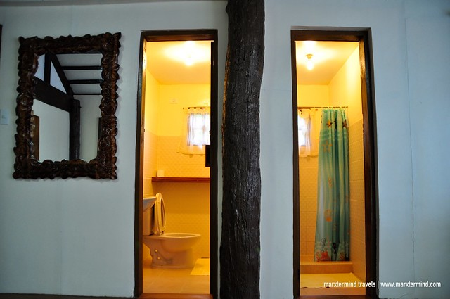 Bathroom at La Estancia Busuanga