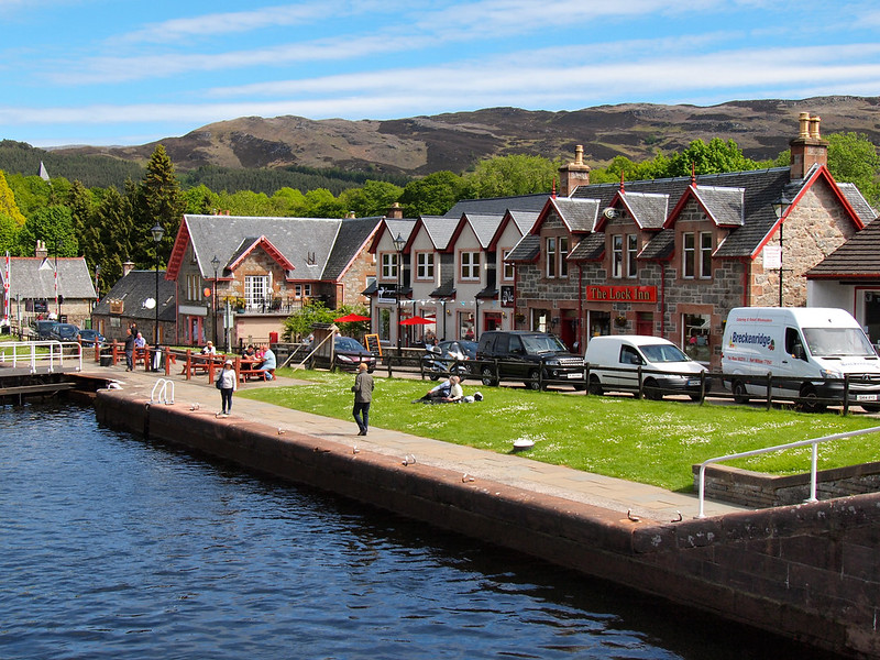 Loch Ness canals