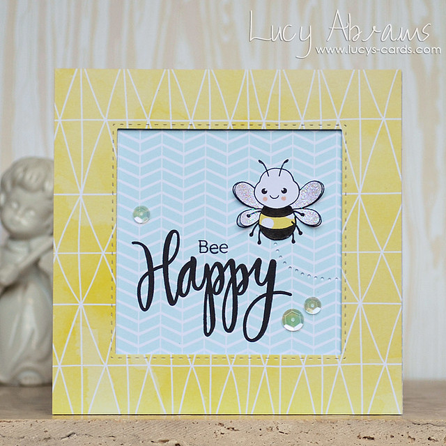 Bee Happy by Lucy Abrams