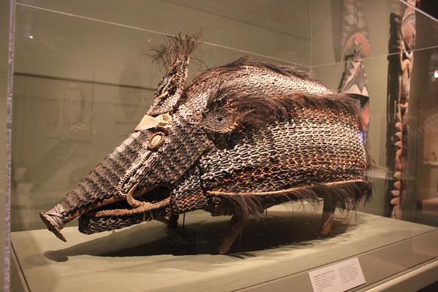 'Basketry Figure of Wild Pig' at San Antonio Museum of Art