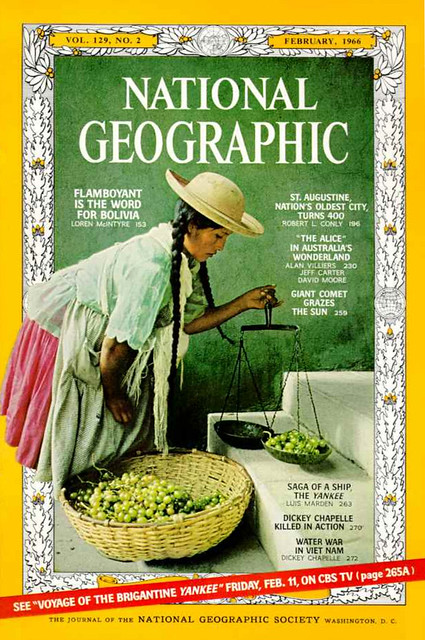 NATIONAL GEOGRAPHIC February 1966 (1) - DICKEY CHAPELLE KILLED IN ACTION - WATER WAR IN VIETNAM by Dickey Chapelle