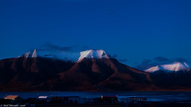 Svalbard Shadows.