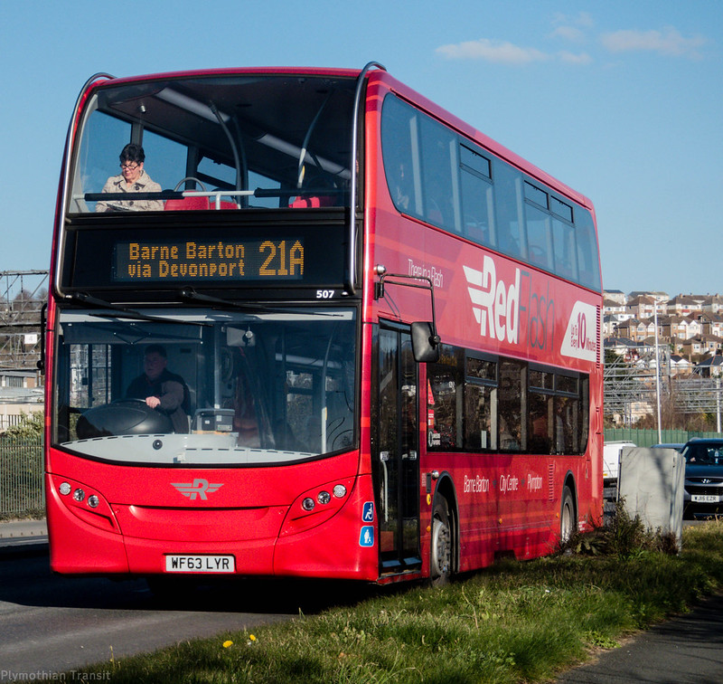 Plymouth Citybus 507 WF63LYR