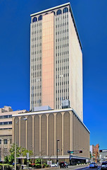 Franklin Exchange Building, 655 North Franklin Street, Tampa, Florida, USA / Architects: The MacEwen Group, Inc / ASD / Architectural style: International style / Construction end: 1966