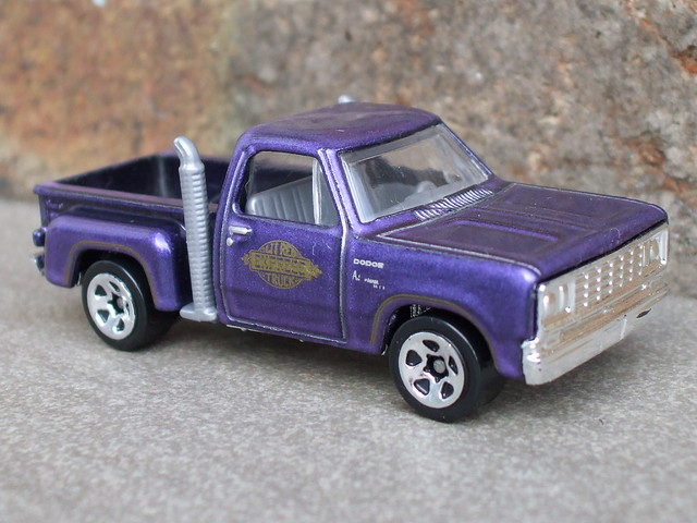 1978 Dodge Li'l Red Express Pickup Metallic Purple