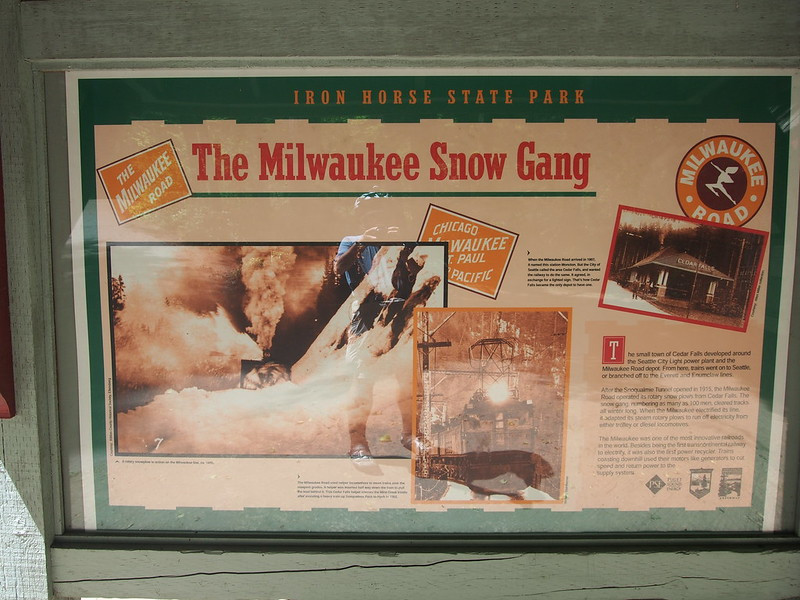 "Cedar Falls Sign: Discussing the ""snow gang."""