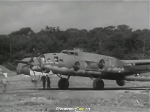 The First B-17 Bombing Raid Over Germany (720p)-3