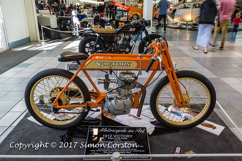 1912 Victory Motorcycle
