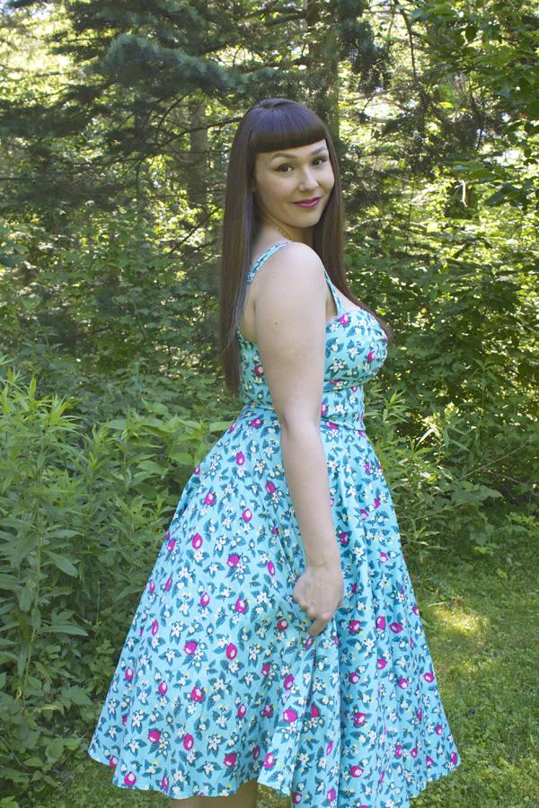 pinup girl clothing lemonade dress