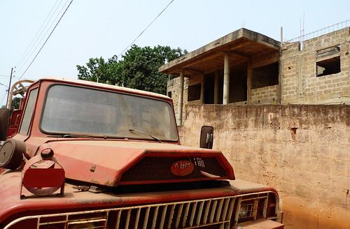 auto truck decay firetruck benin bénin natitingou dahomey atakora бенин
