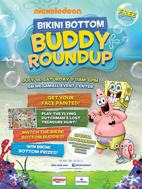 Nickelodeon SpongeBob SquarePants Bikini Bottom Buddy Round-up