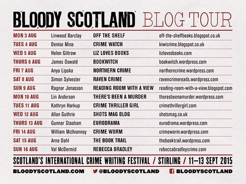 Bloody Scotland Blog Tour