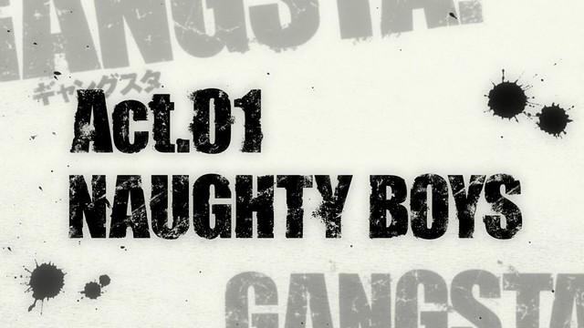 Gangsta ep 1 - image 01