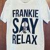 Everyone in #Philly is freaking out about the #Pope's visit. Sometimes I think we should just #relax. #popefrancis #frankiesayrelax #frankiegoestohollywood #frankiegoestophilly #homage #parody #80s #1980s #tee #tshirt #Philadelphia #madeinphiladelphia #ma