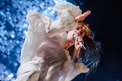 Florence Welch from Florence + The Machine @ FIB 2015