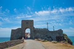 Old castle at cape Kaliakra