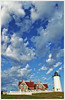 Nobska Lighthouse, Falmouth Massachusetts by Jewel Appletor aka Karalyn Hubbard