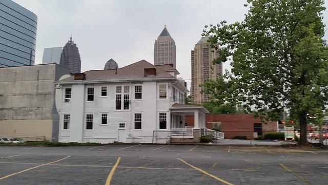 20150806_193808 2015-08-06 Spring Street classical tour Spring Street Atlanta 1385 SPRING ST house ca 1920