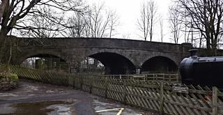 Rail Bridge in Hawes